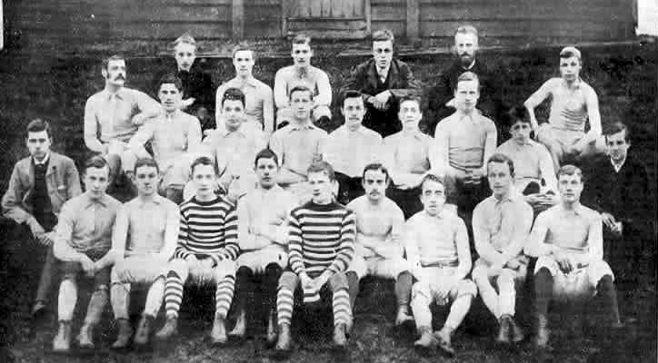 Tottenham Hotspur team in 1885