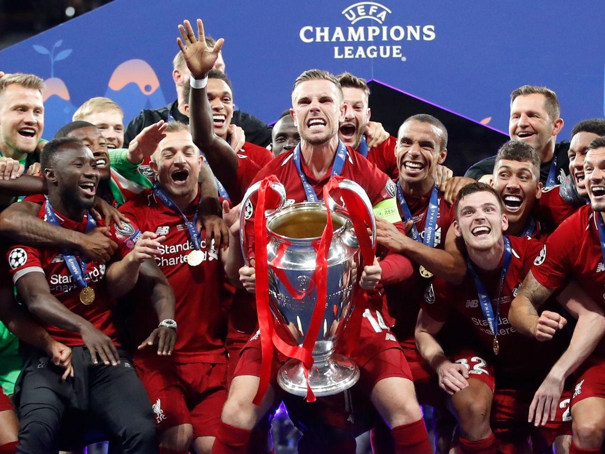 0 Champions League Final Tottenham Hotspur v Liverpool