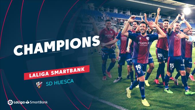 GRAPHIC SD Huesca LaLiga SmartBank champions