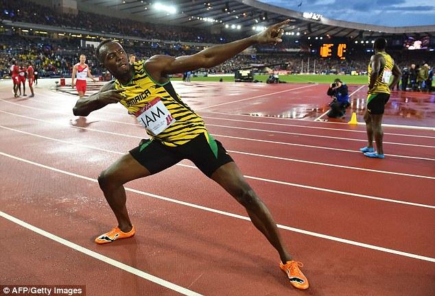 1409221539168 wps 1 Jamaica s Usain Bolt pose