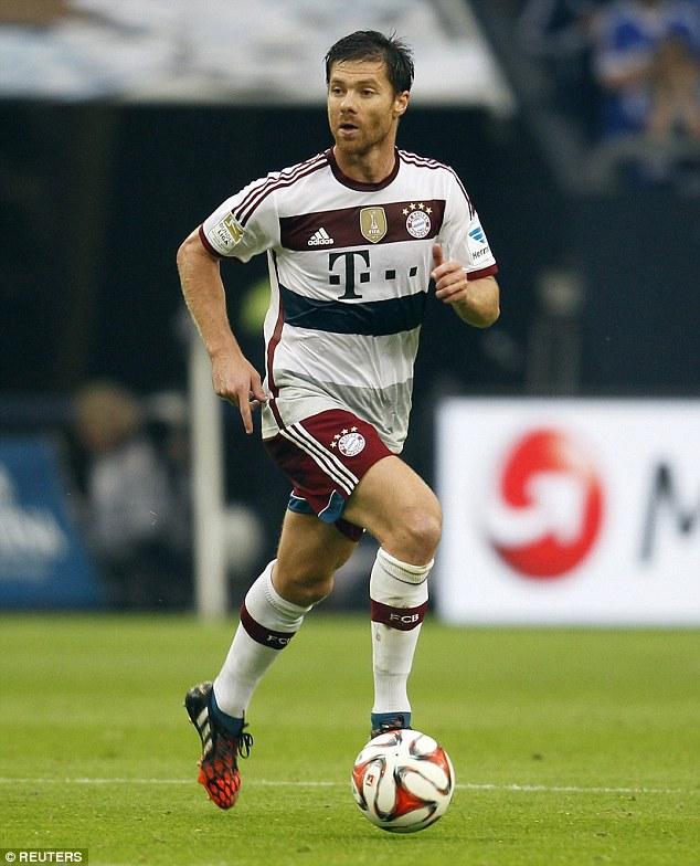 1409482411492 wps 33 Bayern Munich s Xabi Alon