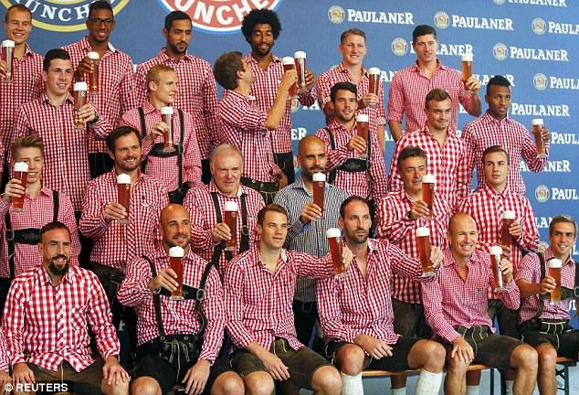 1409482646445 wps 40 Bayern Munich players pos