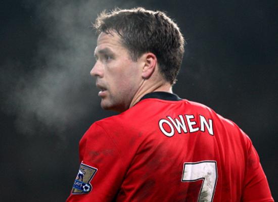 Michael owen Wallpaper Man Utd 2011