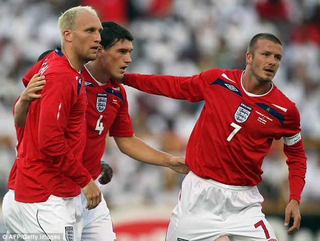 1409945281813 wps 14 England s David Beckham R