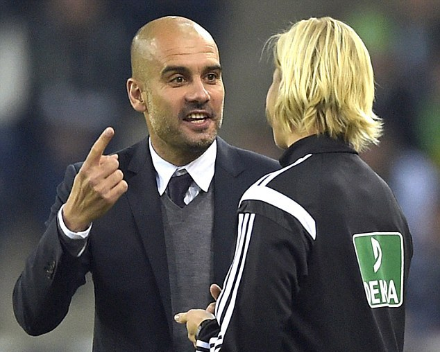 1414411181689 Image galleryImage Bayern s head coach Pep G
