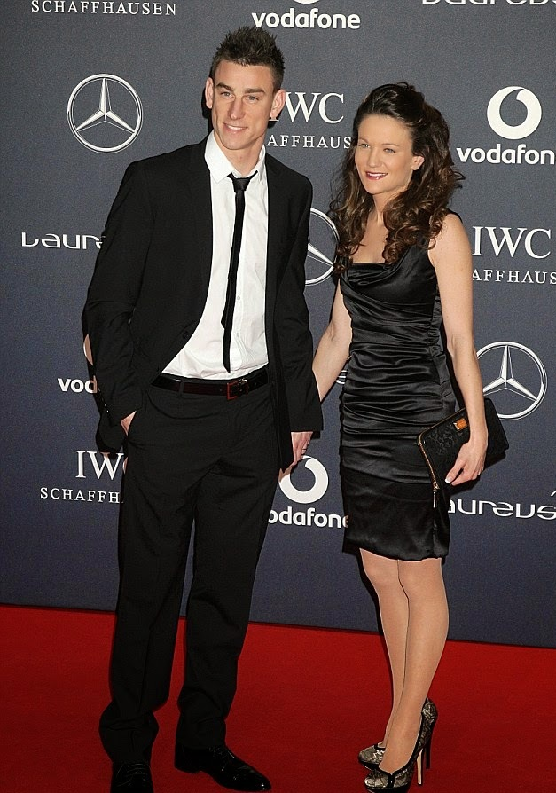 Laurent Koscielny and wife Claire Koscielny copy