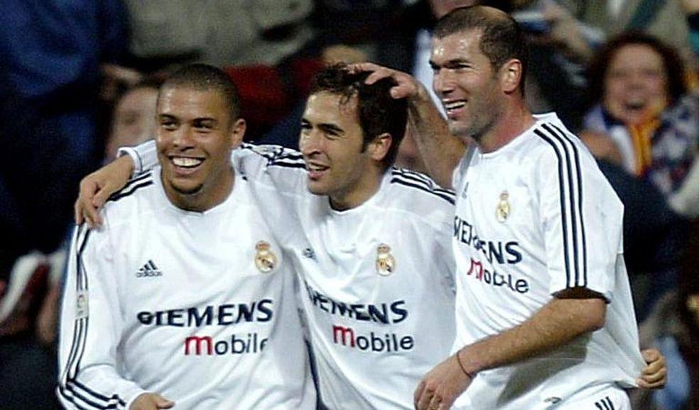 Ronaldo-Zinedine Zidane-Raul Gonzalez-Real Madrid ALDIMA20131219 0001 3