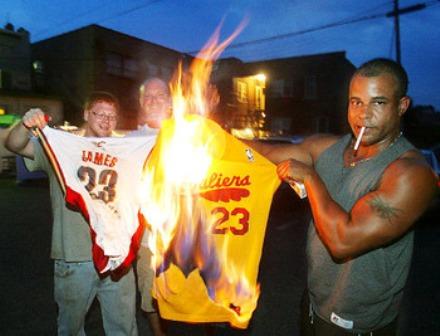 lebron jerseys burn