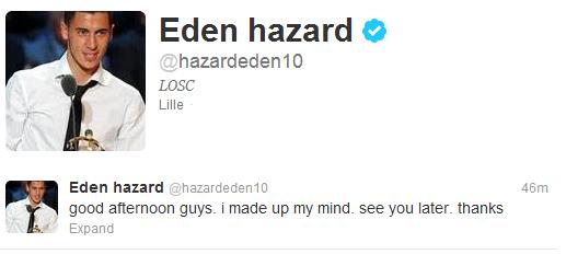 Hazard-Tweet