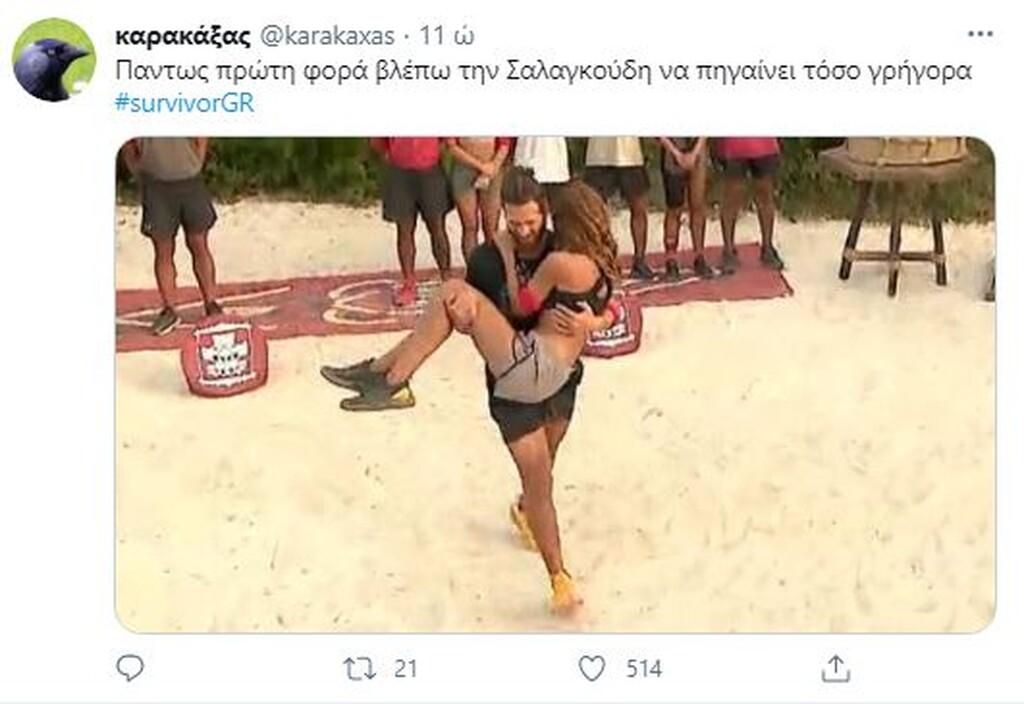 Survivor: Όργια… στο Twitter για τη βιασύνη του Παπαδόπουλου να βγάλει την Ανθή (photos)