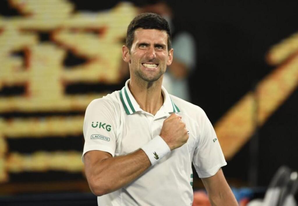 Αποτέλεσμα εικόνας για Τζοκοβιτς, Australian Open, Μεντβέντεφ