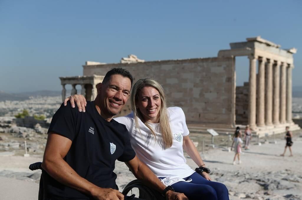 Παραολυμπιακοί Αγώνες: Στην Ακρόπολη η ελληνική αποστολή πριν το Τόκιο (photos) - Onsports.gr