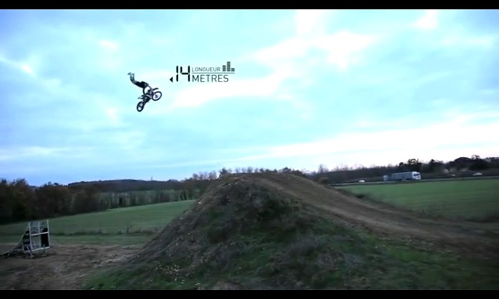Nicolas Inard FMX Training