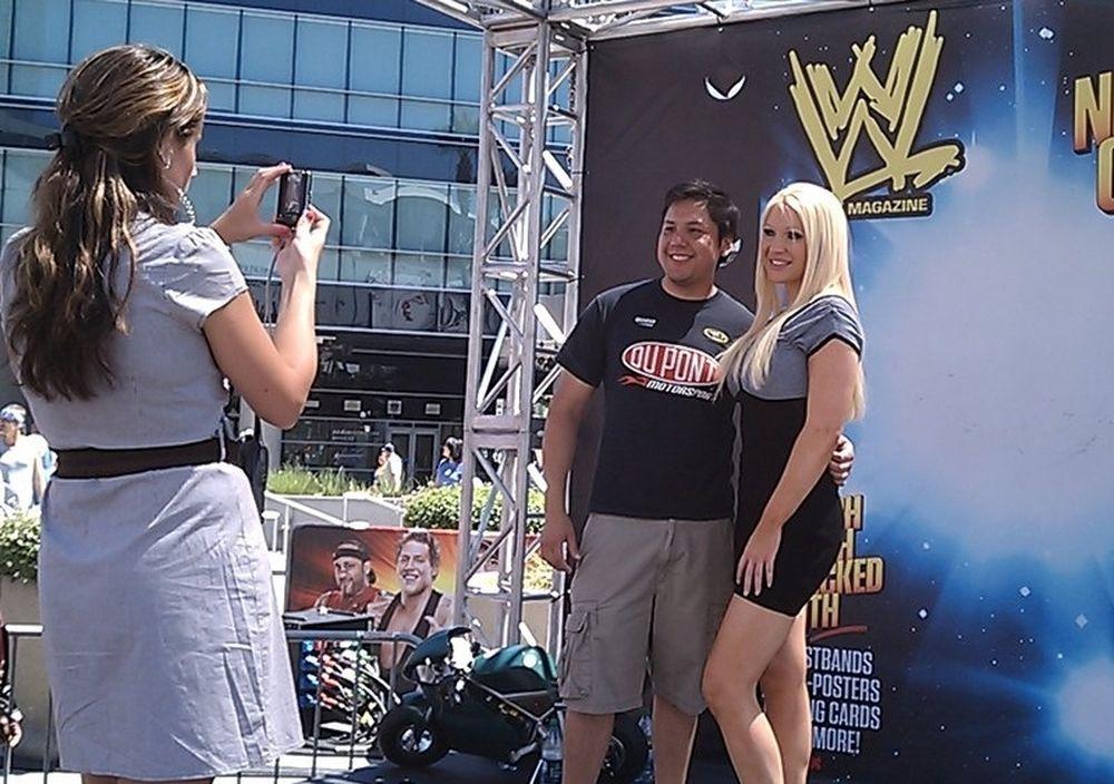 Η μεγάλη γιορτή του WWE