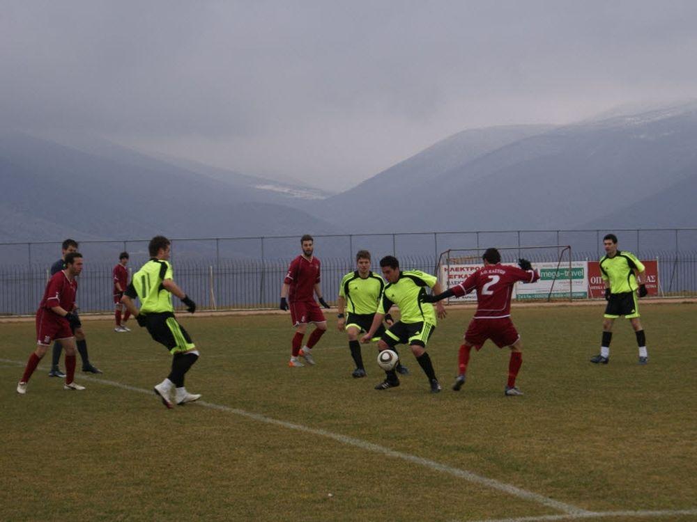 Μακεδονικός Σ. – ΑΟ Κάστωρ 1-1