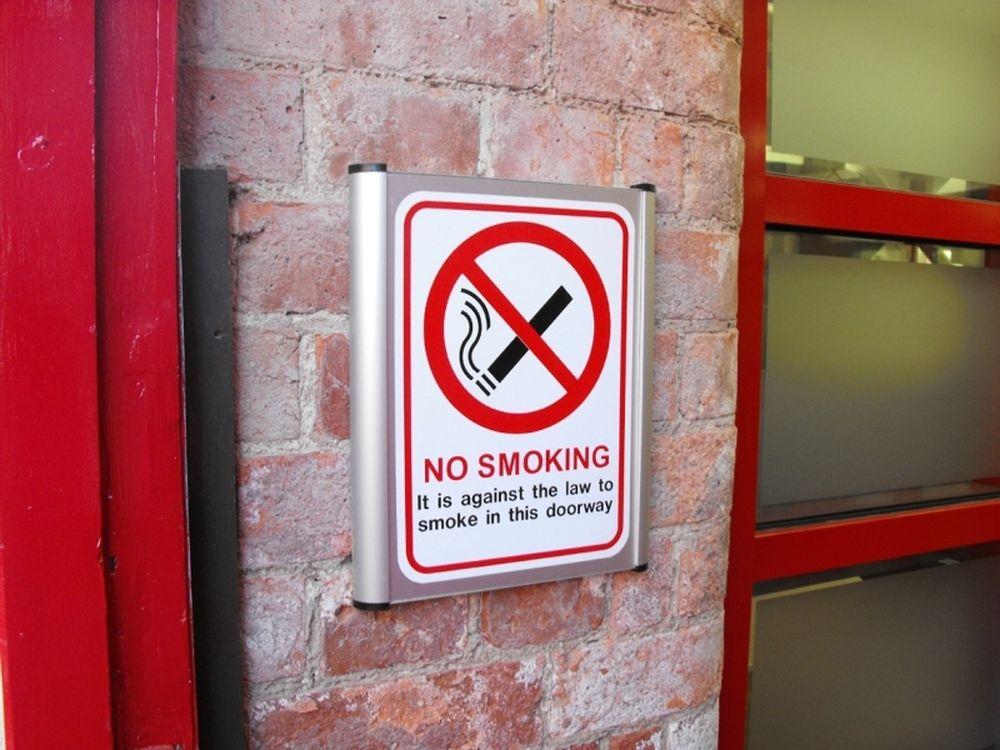 No… smoking!