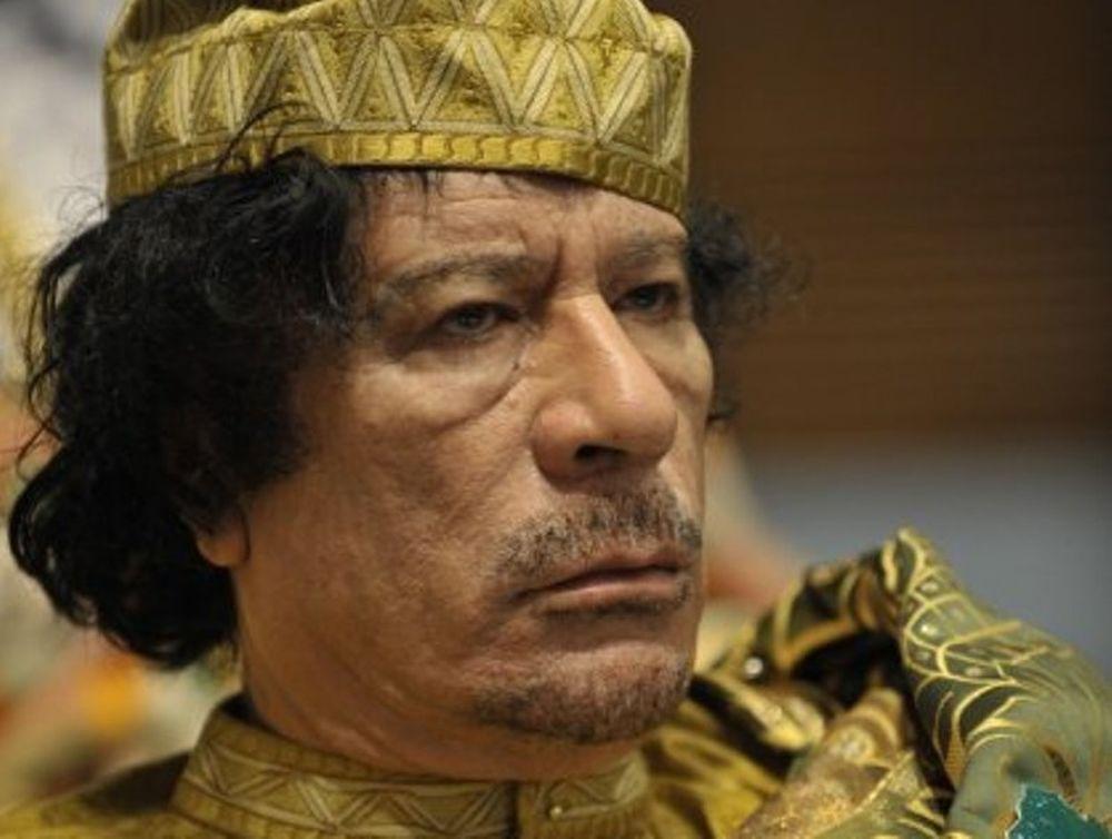 Στο μουσείο ο Καντάφι;