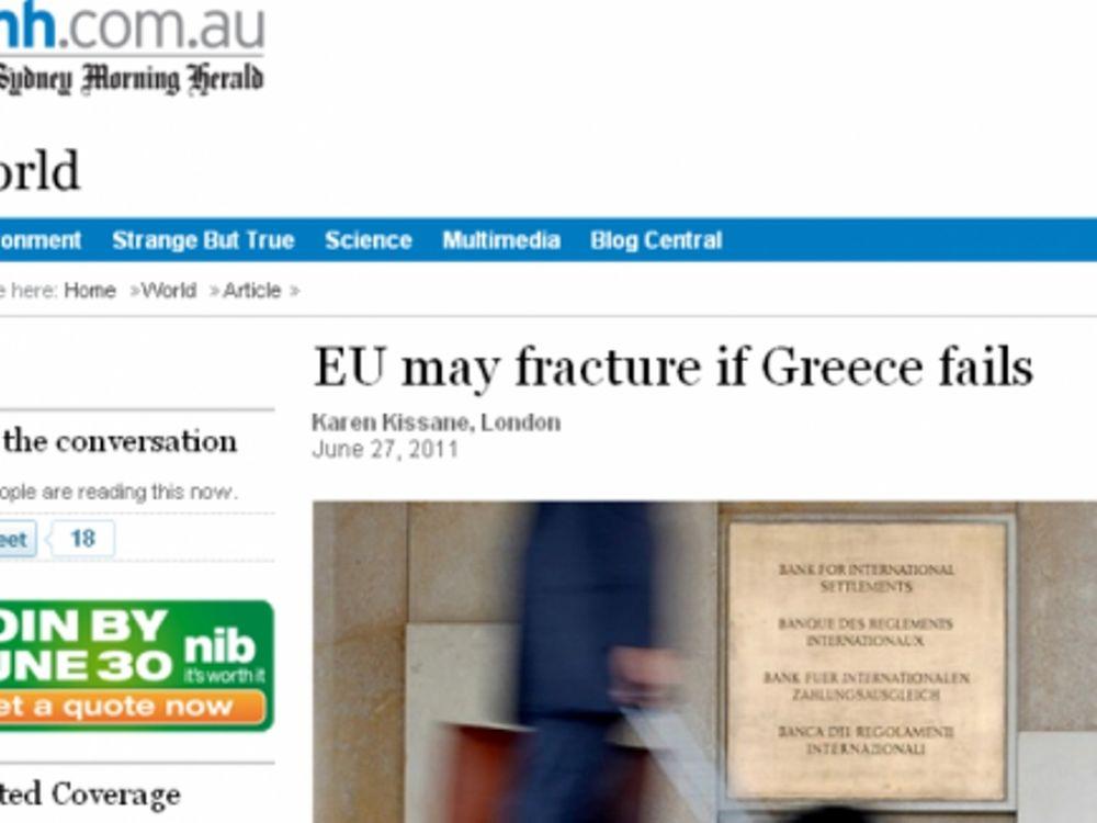 Οι Αυστραλοί για την Ελλάδα