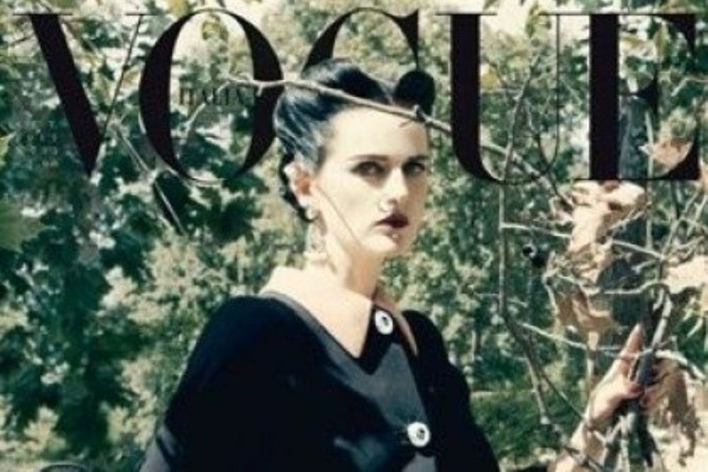 Σοκ και δέος στο τελευταίο εξώφυλλο της Vogue Italia