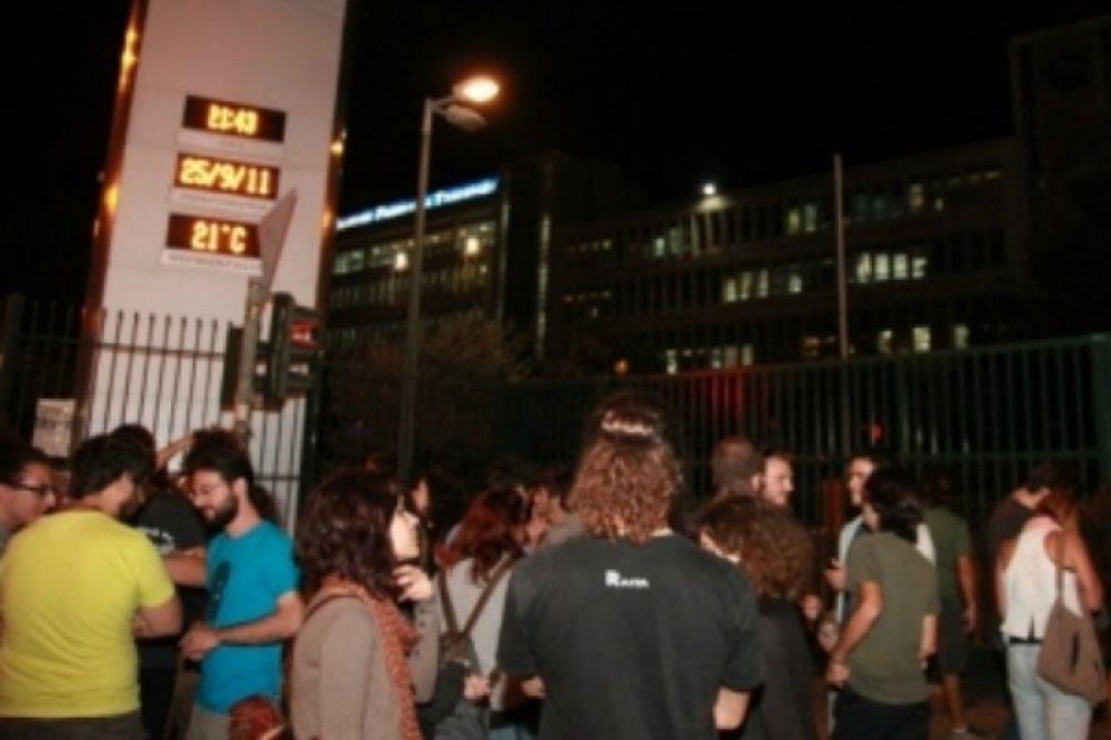 Δεν μετέδωσαν τη δήλωση του εκπροσώπου των φοιτητών στην ΕΡΤ