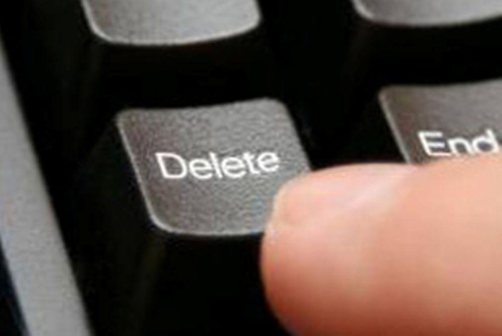 Δώνης: «Κάντε delete»