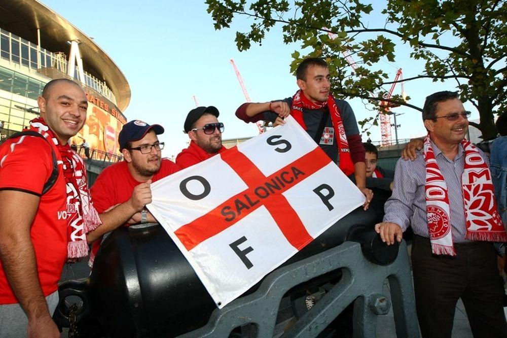 Το Onsports στο «Emirates Stadium» (videos+photos)