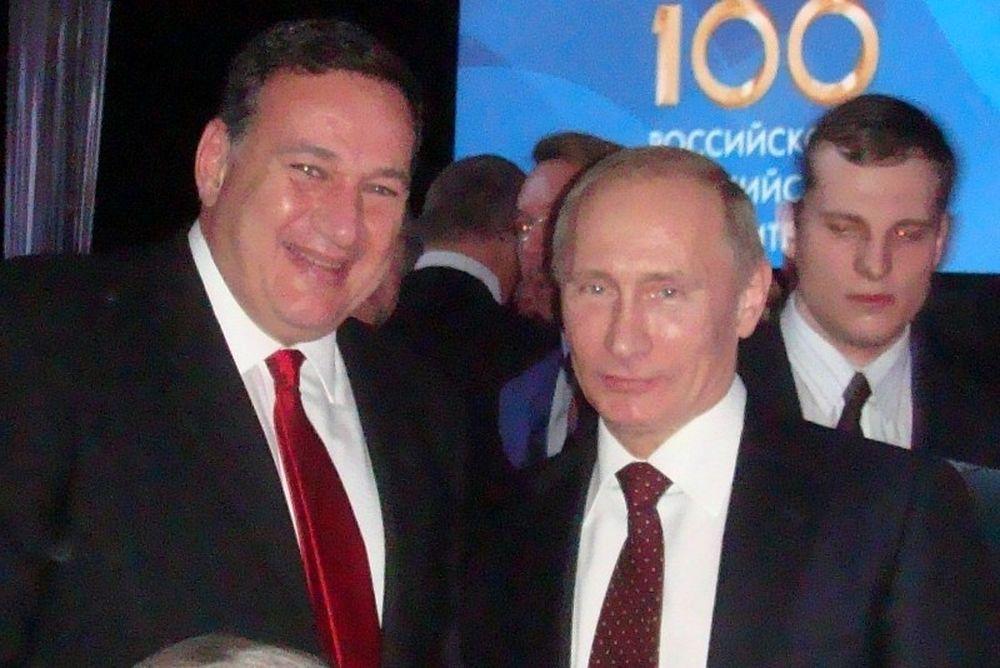 Συνάντηση Καπράλου - Πούτιν