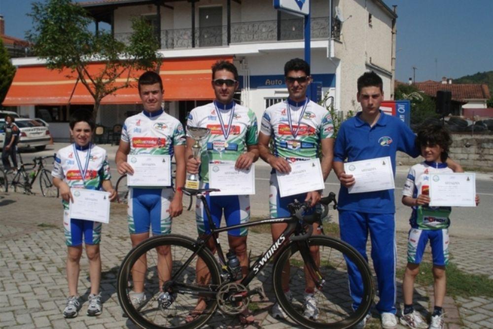 Στην 7η θέση η Ποδηλατικός Λάρισας