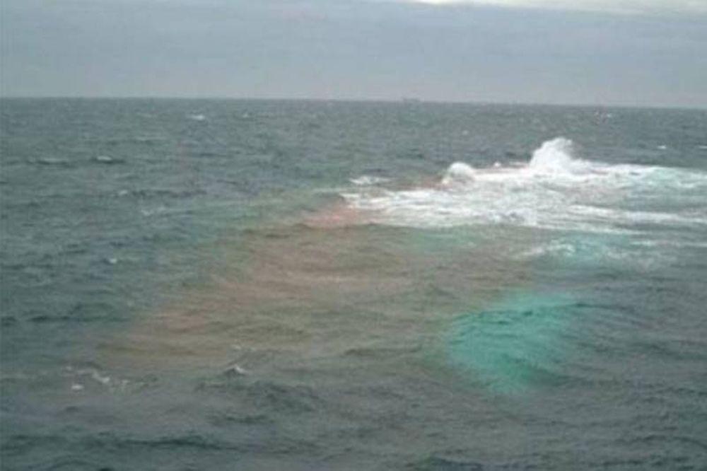 Σύγκρουση δεξαμενόπλοιου με αλιευτικό στον Θερμαϊκό