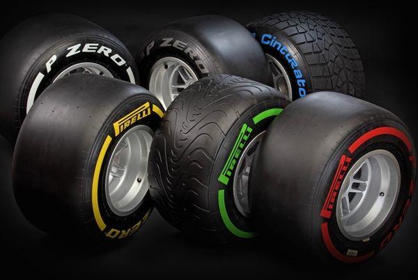F1: Νέες γόμες και χρώματα για την Pirelli