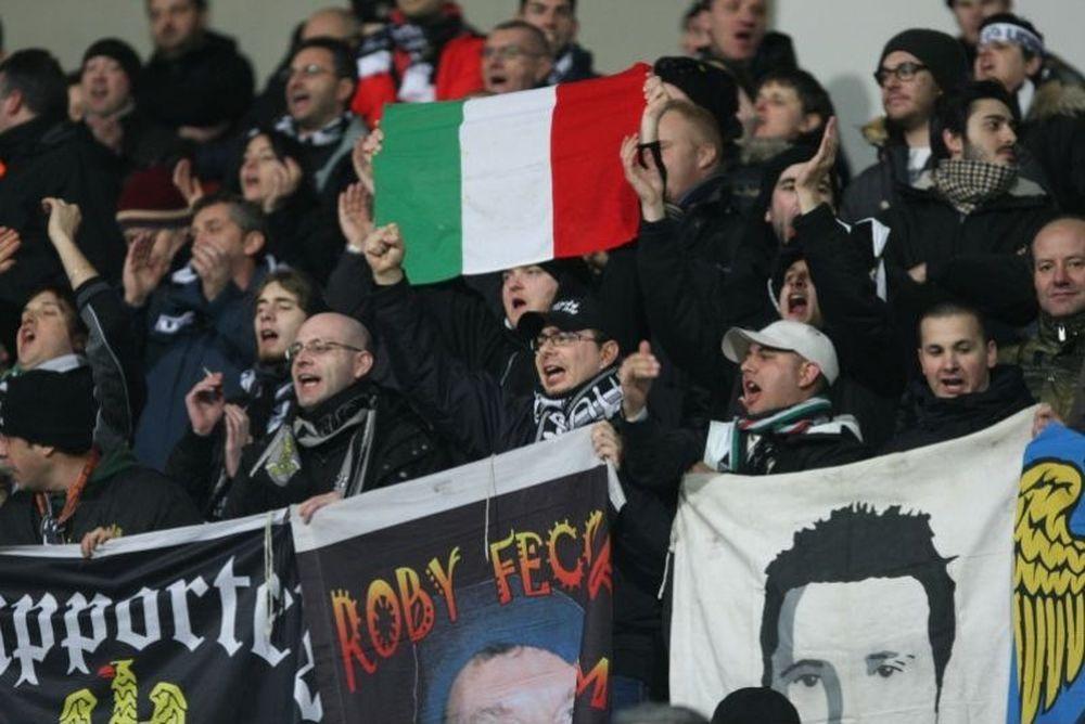 Αφέθηκε ελεύθερος ο Ιταλός οπαδός