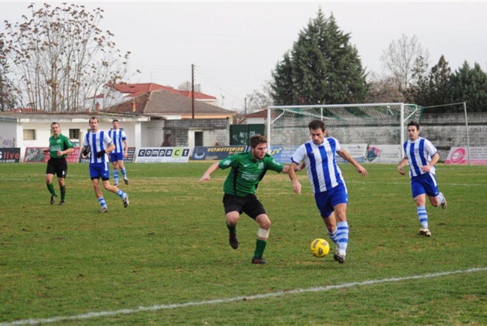 Πύρασος Ν. Αγχιάλου - Α.Ο. Καρδίτσα 0-1