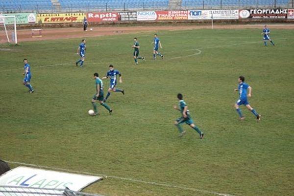 Αγρότης Λιανοκλαδίου - Καμένα Βούρλα 2-0
