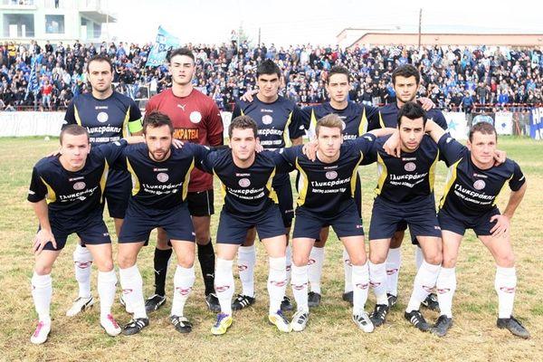 Νέα Καλλικράτεια-ΠΑΟΚ Γιαννιτσών 0-0