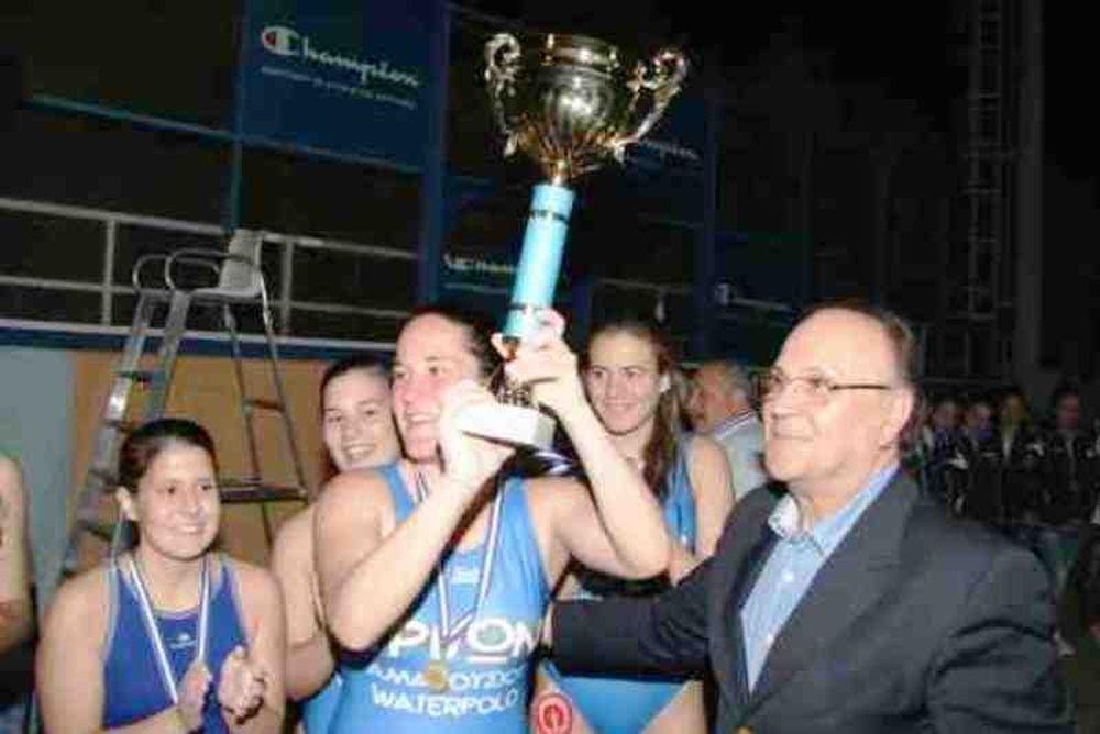 Πρωταθλητής Ελλάδας ο Τρίτωνας στις Νέες γυναίκες