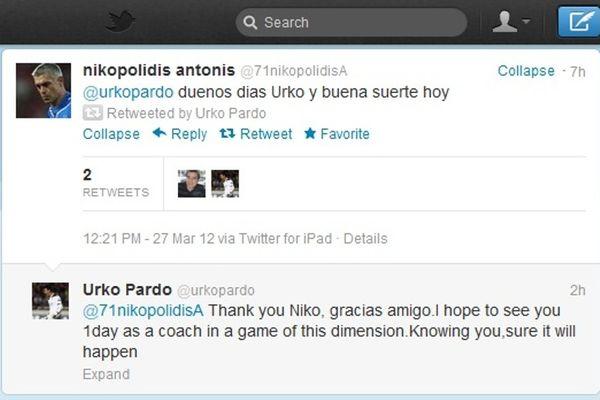 Ευχές μεταξύ Νικοπολίδη και Πάρντο!