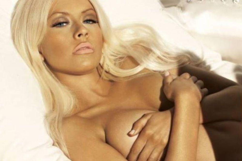 Η… γυμνή Aguilera (photos)
