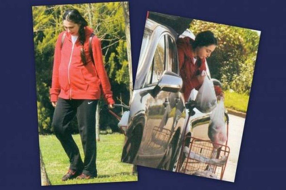 Ολυμπία Χοψονίδου: Φορτωμένη με ψώνια αν και στον μήνα της