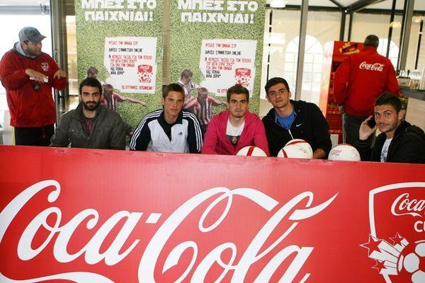«Θέλουμε να ασχολείστε με το ποδόσφαιρο» (photos)