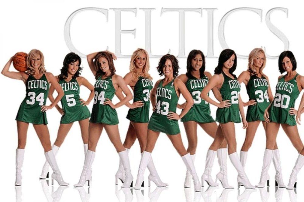Celtics Cheerleaders Show!