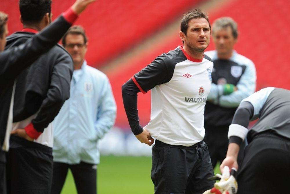 Euro 2012: Λάμπαρντ: «Από τα τελευταία τουρνουά μου»