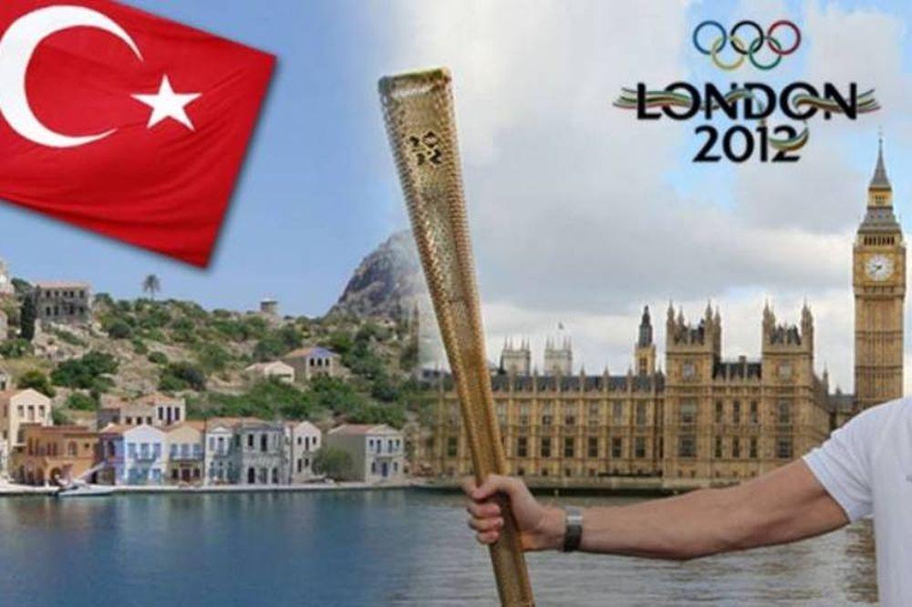 Τουρκική πρόκληση με την Ολυμπιακή Φλόγα στο Καστελόριζο