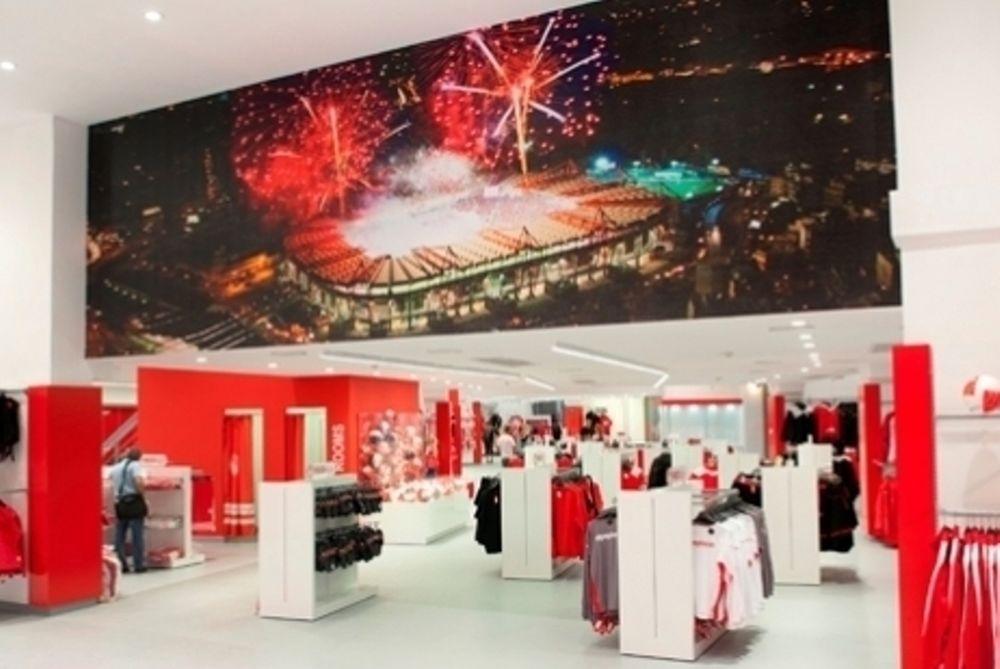 Η μπουτίκ του Ολυμπιακού «μετακομίζει» στο ΟΑΚΑ