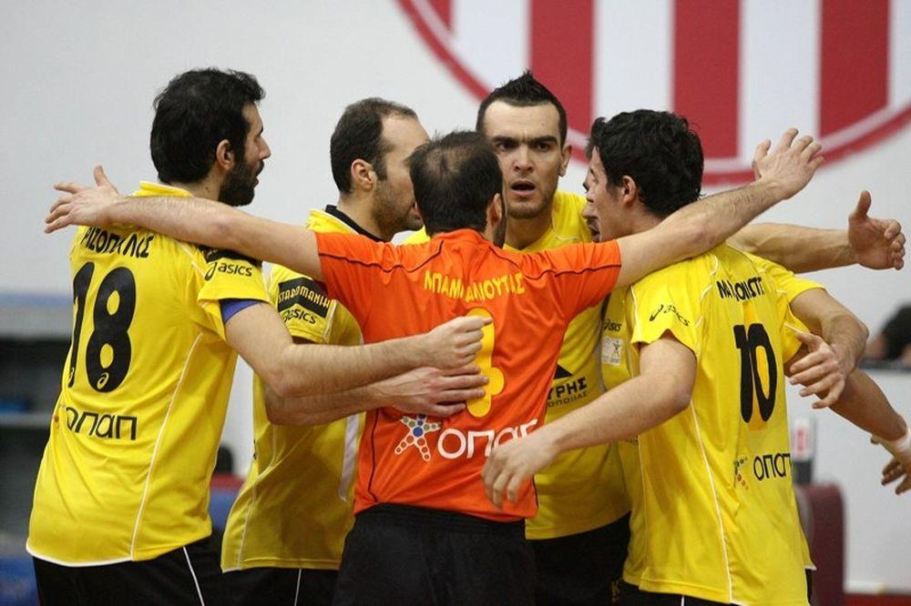 Στο CEV Cup ο Άρης, νίκησε 3-1 τον Ολυμπιακό