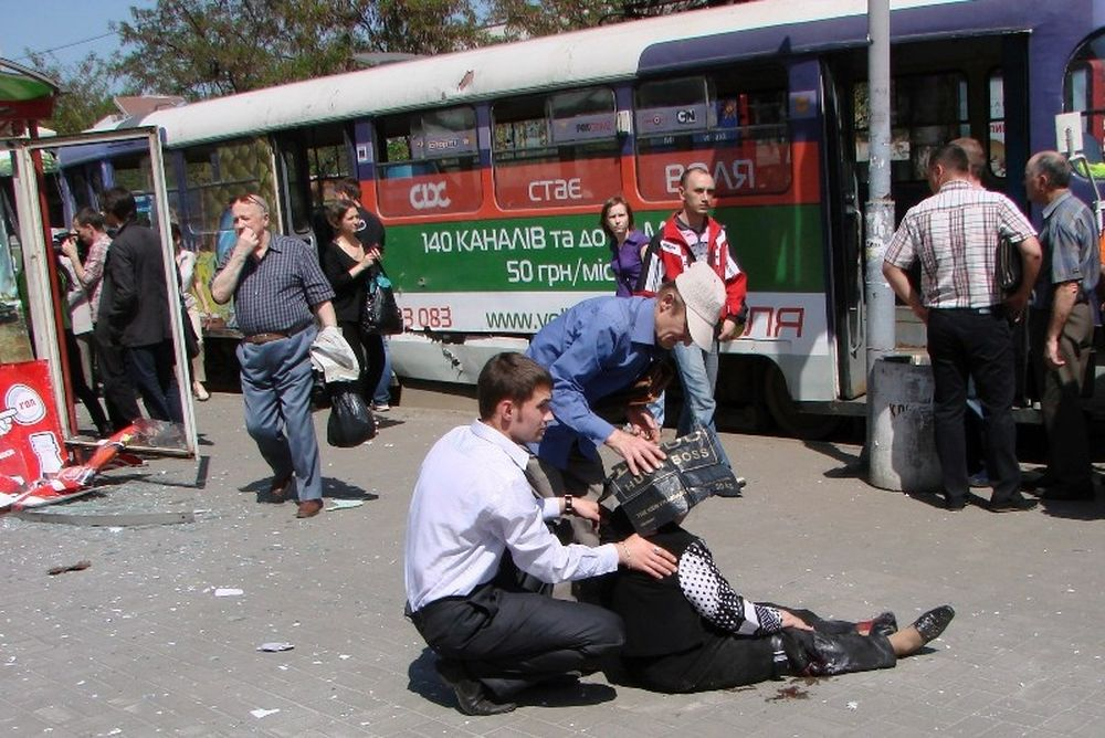 Euro 2012: Δεκάδες τραυματίες από βομβιστικές επιθέσεις στην Ουκρανία!