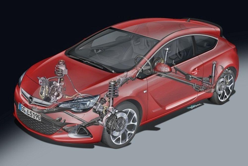 Νέο πλαίσιο προσφέρει στο Astra OPC καλύτερη επαφή με το δρόμο