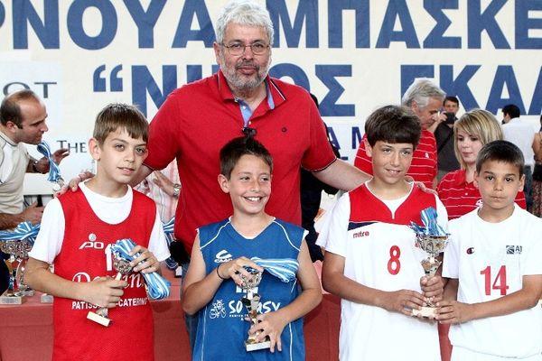 Αγγελόπουλος: «Τεράστιο σεβασμό σε Γκάλη και Βασιλακόπουλο»