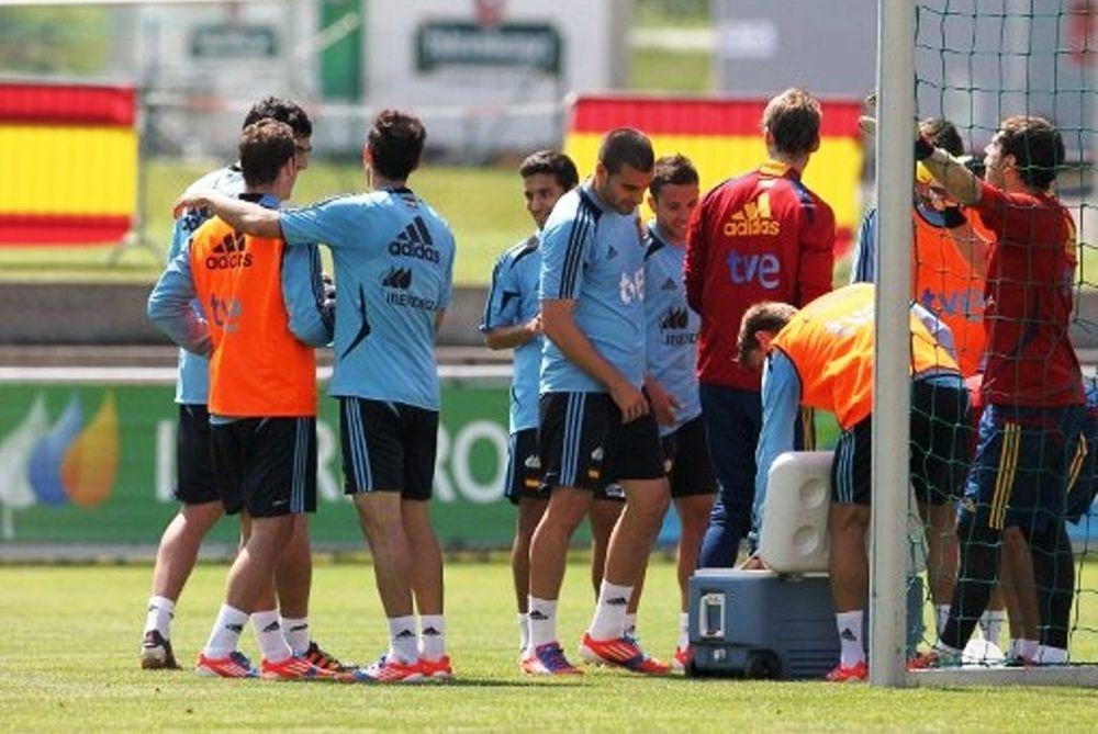 Euro 2012: Με σύνθεση… ανάγκης η Ισπανία