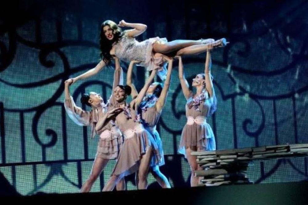 Eurovision 2012: Η Ήβη «άναψε φωτιές» στο Crystal Hall