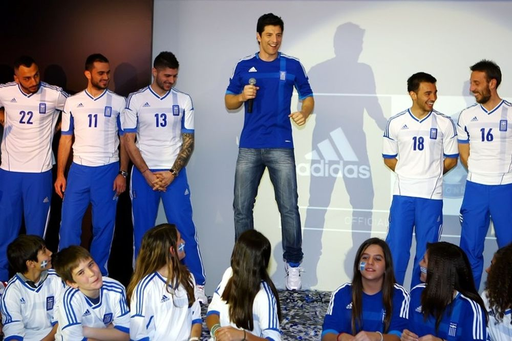 Ο Σάκης Ρουβάς στην Εθνική Ελλάδας (photos+videos)